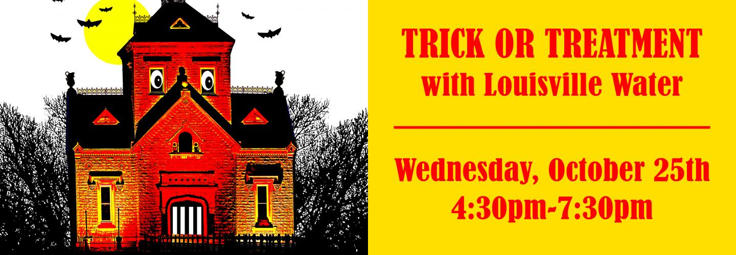 Join us for Trick or Treatment