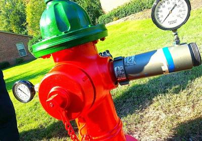 Louisville Water Crews Assist with GE Fire Protection