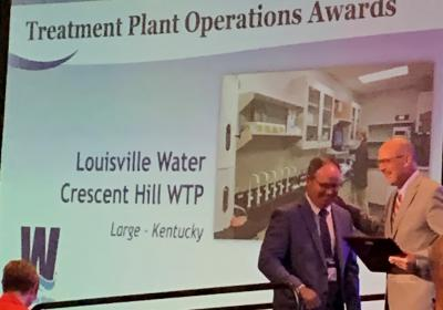 Crescent Hill Treatment Plant awarded top honor at Water Professionals Conference