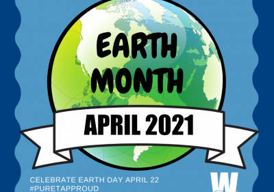 Louisville Water honors Earth Month in a BIG way
