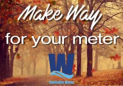 Clear the way for your meter reader