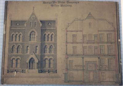 The Old Water Company Building - Why It Was Almost Never Built