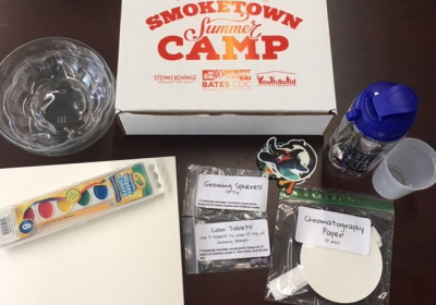 Steam Exchange includes Louisville pure tap® bottles in science kits