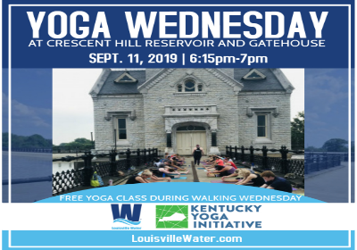 Walking Wednesday program wraps up with free yoga class