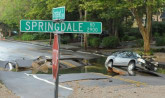 Update on 60-inch Main Break Repair Work at Grinstead Drive