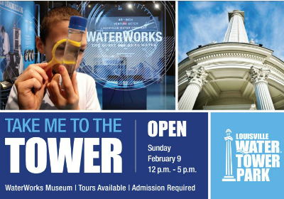 Louisville Water Tower Park Open on February 9