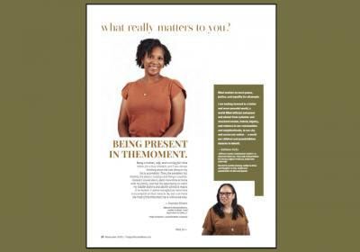 Project engineer featured in Today's Woman