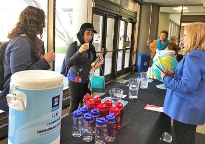 Purely local partners helped promote World Water Day