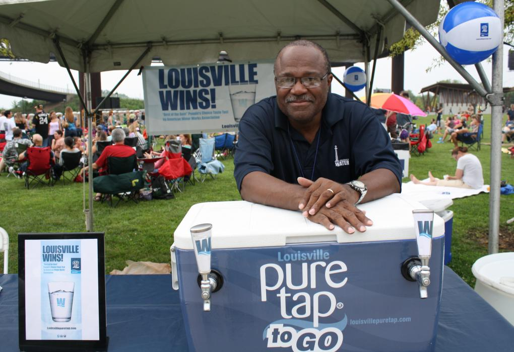 Darrell Rhodes and pure tap