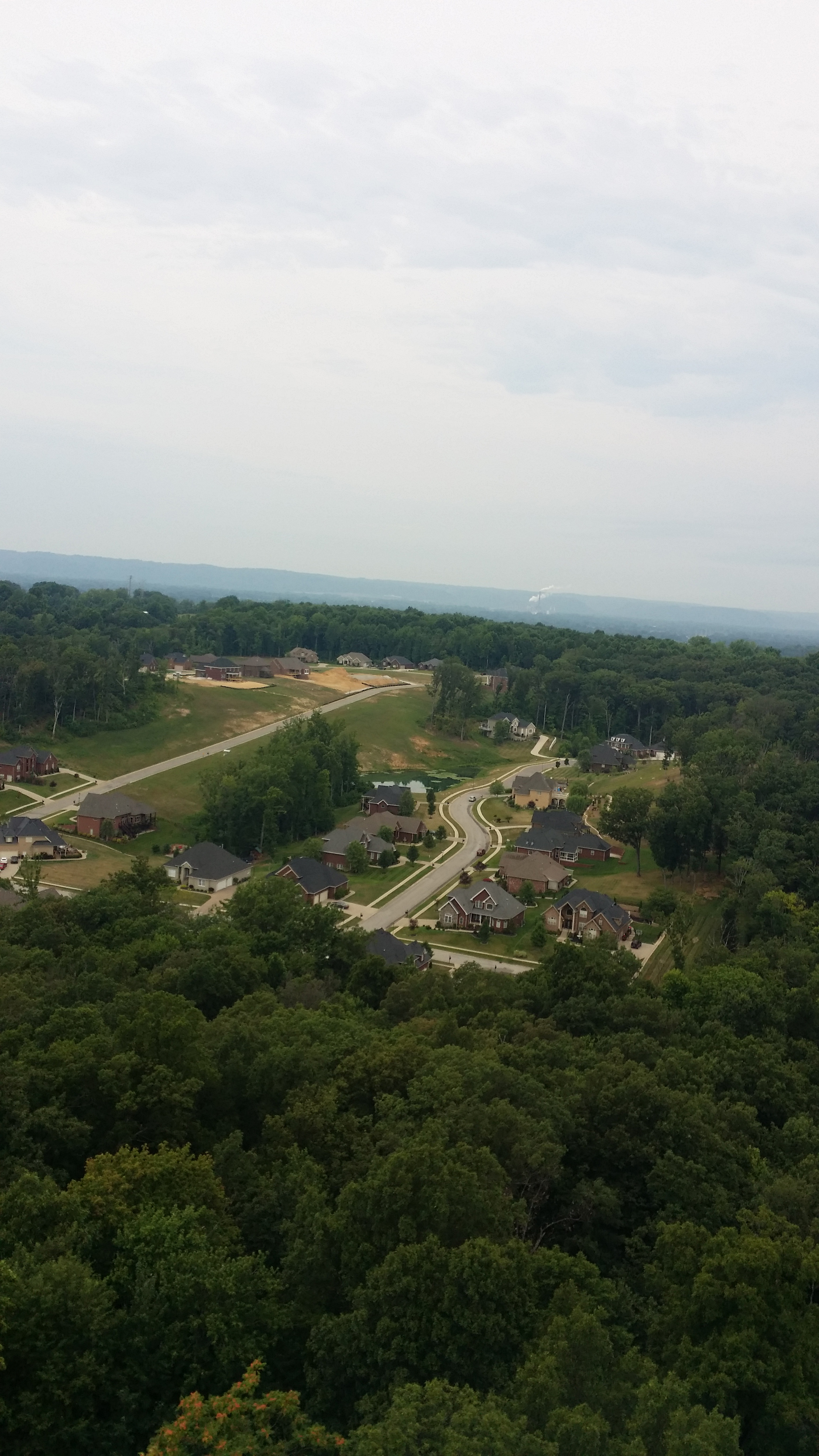 View from atop Park Ridge Water Tower